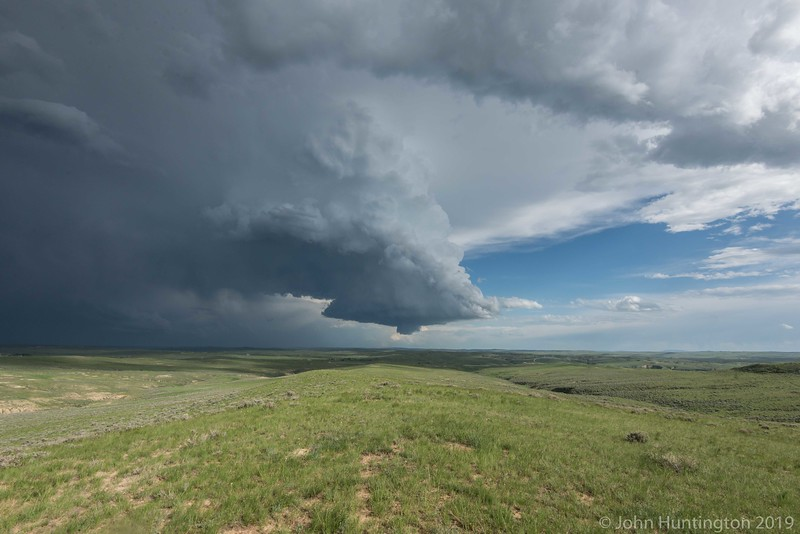 Storm near Gillette, WY