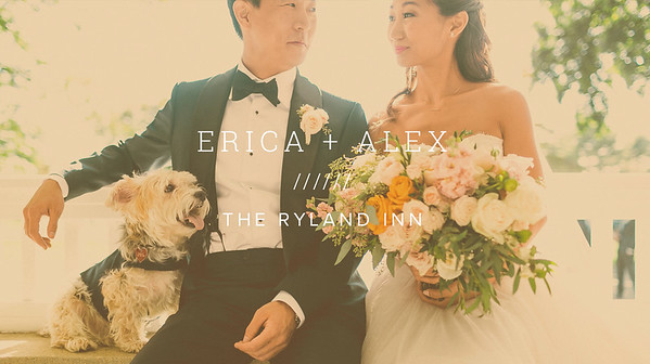 ERICA + ALEX ////// THE RYLAND INN