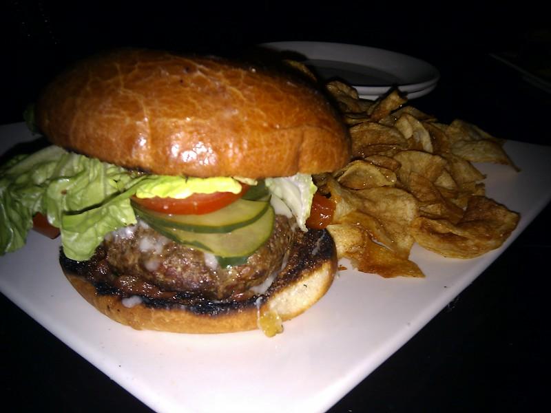 1300 on Fillmore - Grilled Ribeye Burger
