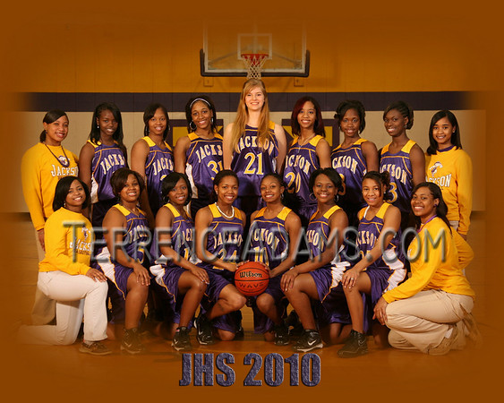 Jackson High School Girls Basketball 2010
