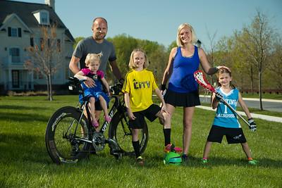 Jake & Britt Oergel Family Portraits