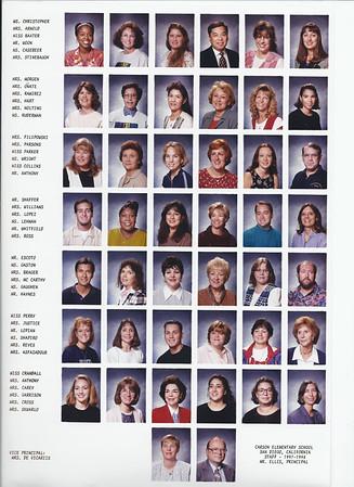 Carson Elementary 1997-1998