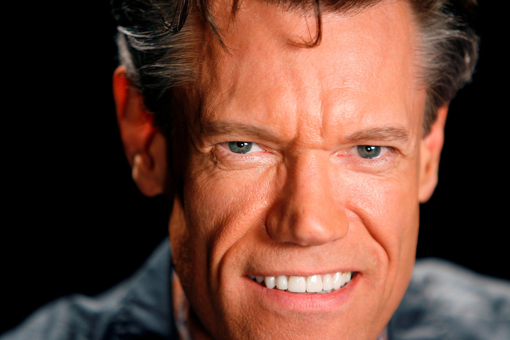 """. Musician Randy Travis poses for a picture in New York, Thursday, July 17, 2008.  Travis just released a new album, \""""Around the Bend\"""".  (AP Photo/Seth Wenig)"""