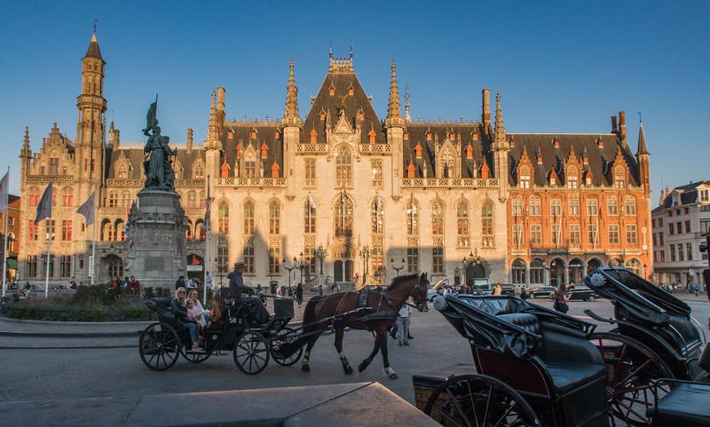 Market Square - Bruges - Belgium (October 2018)