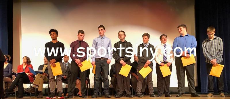 Sullivan West Fall Sports Awards Presentation 11-19-18