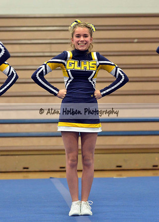 Cheer at LCC - Grand Ledge varsity - Round 2 - Jan 25