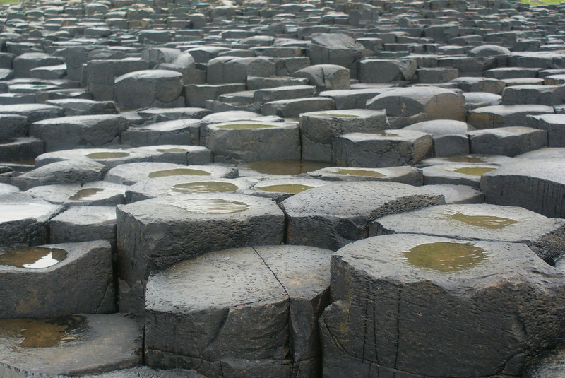 Here's a closeup of the stone formations.