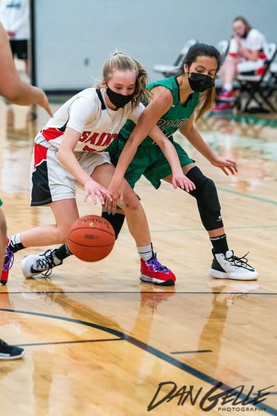 Dragons Girls Basketball vs St. James