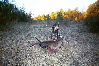 Jacob's first deer