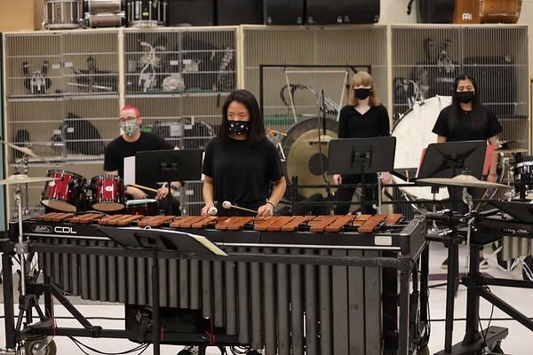 2021-03-17 Percussion Ensemble Practice