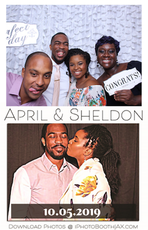April & Sheldon