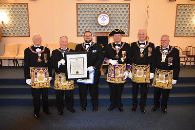 WAM Offical 2019 & 50Yr Past Master