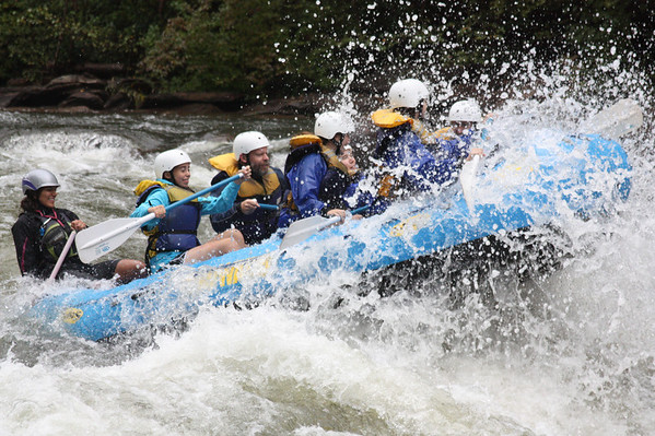 Ocoee Whitewater Rafting September 2012