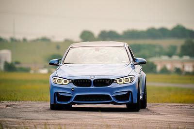 14 Blue BMW M3