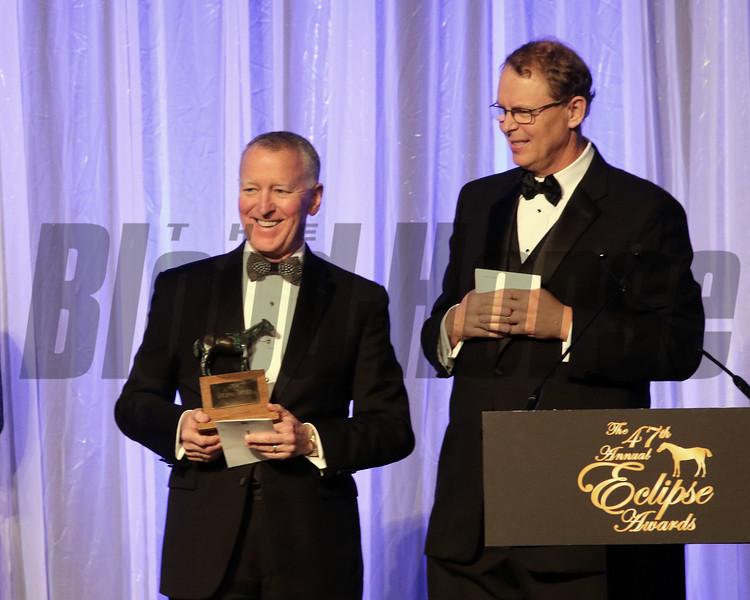 Bill Thomason, Elliott Walden, Eclipse Awards, 2018 , Gulfstream Park