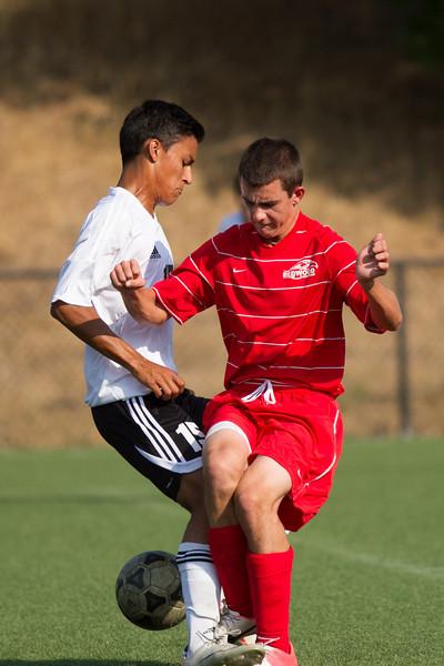 RCS Varsity Boys' Soccer vs Atheninan 09.25.12