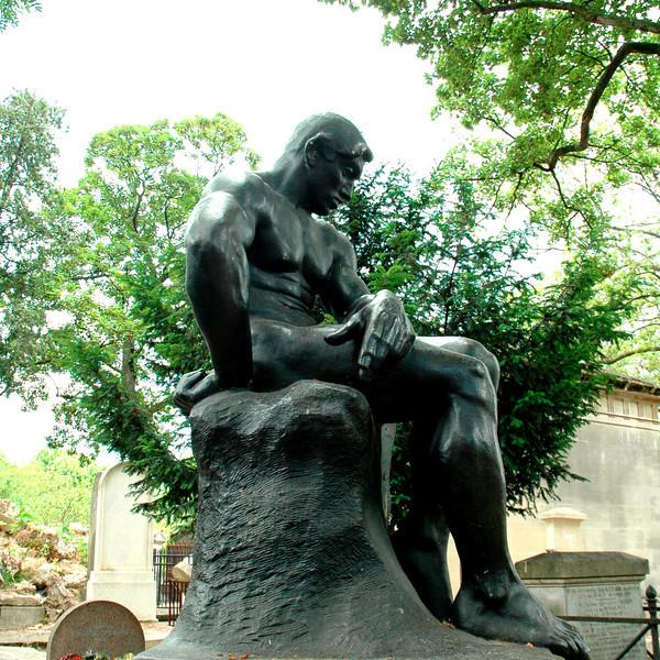 Sculpture at Pere Lachaise Cemetery in Paris by Rembrandt Bugatti (1884–1916)  Exploring Art