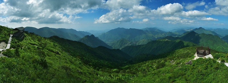 top of Zhejiang 黄茅尖