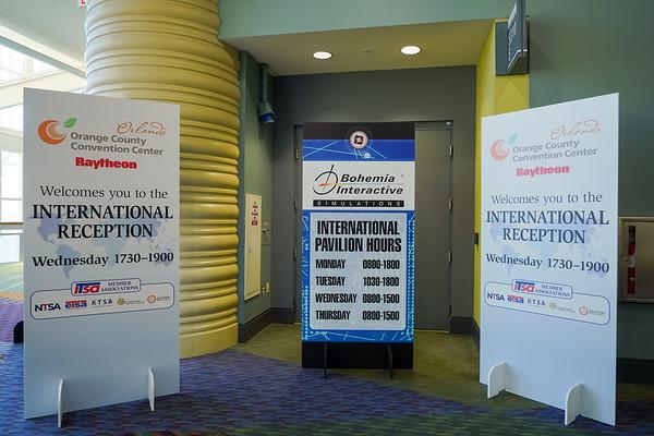 International Reception (Wed)