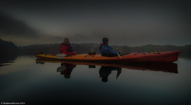 Night Kayaking at Lough Hyne in Ireland