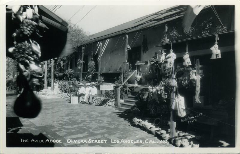 The Avila Adobe on Olvera Street