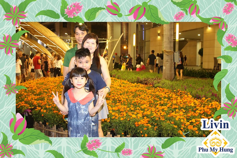 LivinPMH App Launching Photo Kiosk @ Phu My Hung Spring Flower Festival 2020 | Kiosk in ảnh tự động từ DSLR & Mobile tại Sự kiện ra mắt ứng dụng LivinPMH | Fotokio
