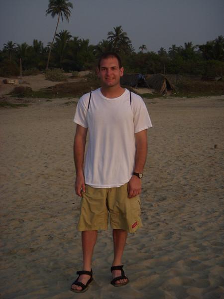 Jon on Arambol Beach
