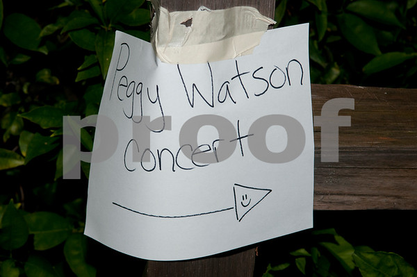 Peggy Watson CD release concert