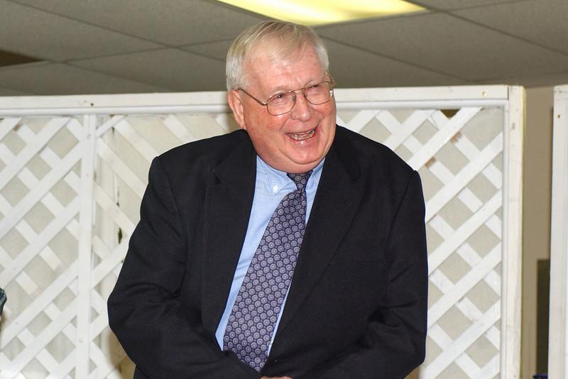 Reception for James Ellington March 2008
