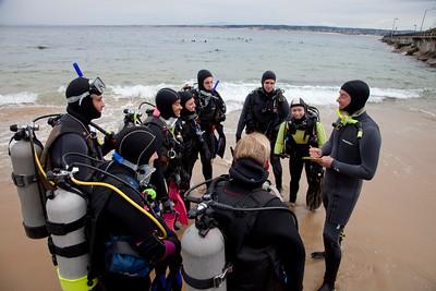 CSUMB Scientific Diving Class
