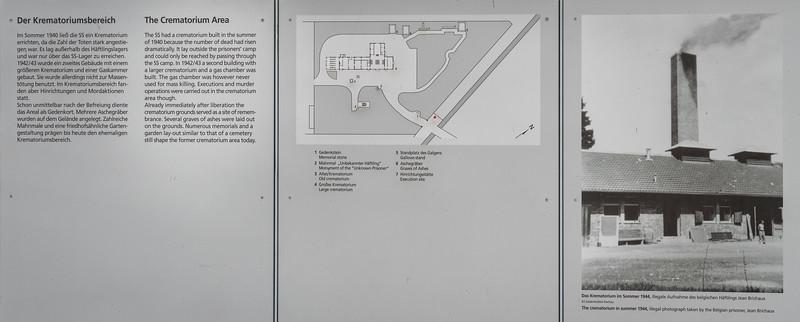 Crematorium area