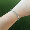 6.50ctw Round Brilliant Diamond Tennis Bracelet 7