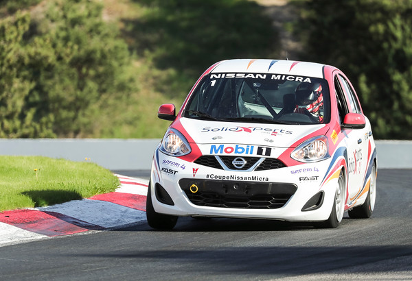2018 Nissan Micra Cup at Victoria Day SpeedFest Weekend