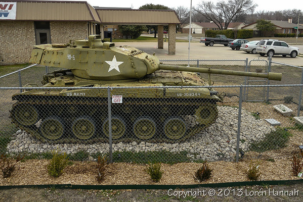VFW Post 5076 - Garland, TX - M41A3
