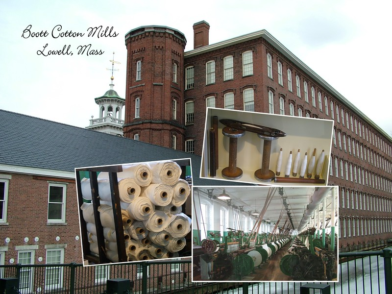 Boott Cotton Mills - Collage - Lowell, MA