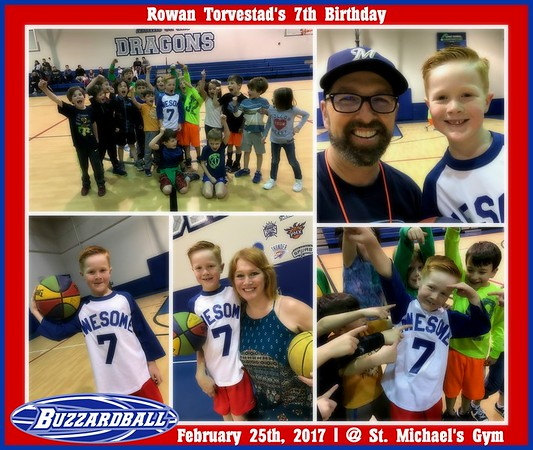 FEBRUARY 25TH, 2017 | Rowan Torvestad 7th Birthday