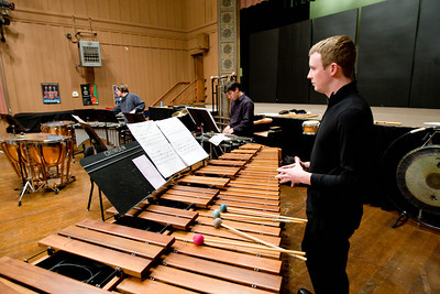 John Adams Young Composer  Percussion Concert January 18,2009