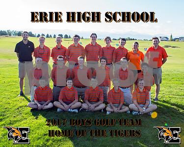 2017 EHS Golf Team Pics
