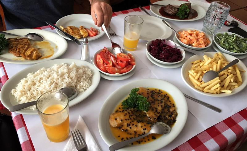 Lunch at Swiss Restaurant