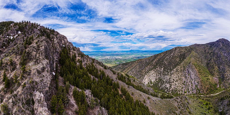 Above Green Canyon