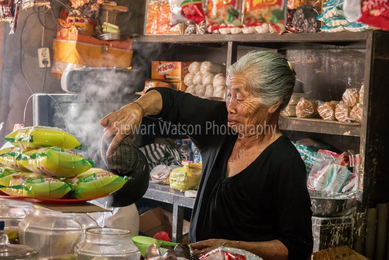 Food Market in Ubud district