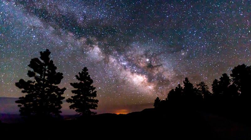 Milky Way Silouette