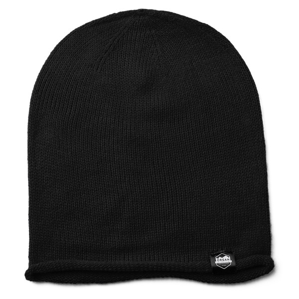 Outdoor Apparel - Organ Mountain Outfitters - Hat - Oversized Knit Beanie - Black.jpg
