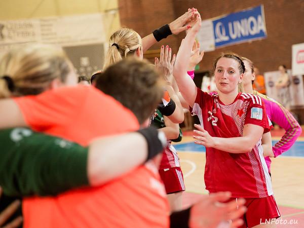 3. zápas finále: Slavia - Most 22:26