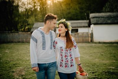 Andrei si Iulia - Sedinta foto Muzeul Satului Sibiu