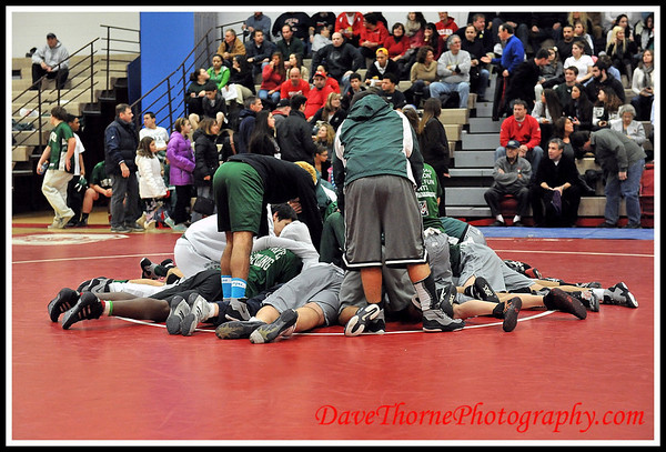 Wrestling - Ocean Varsity vs Long Branch  Jan 2013