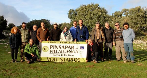 Proyecto Recuperación Pinsapar Villaluenga