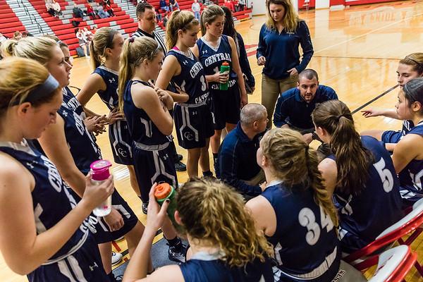 CC Varsity Girls Basketball vs West Lafayette 2017-1-10