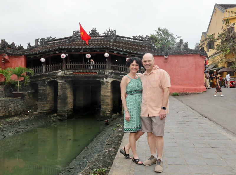 Japanese covered bridge dates back to the 18th century - Hoi An