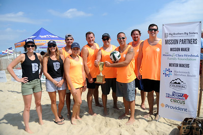 13th annual Big Brothers & Big Sisters Beach Volleyball Tournament in Manasquan